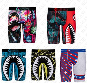 Mens Underwears Boxers Men Swimwear Summer Beach SHorts quick dry Shark printing sand sports shorts boxer underwear beachwear D72707