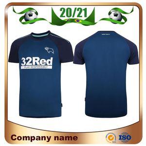 20/21 Derby County Football Club camisetas de fútbol 2020 Inicio SABIDURÍA blanco camisa Waghorn MARTIN fútbol uniforme HAMER ROONEY Fútbol
