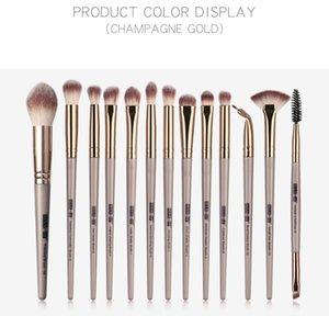Maange 13 pcs / lot maquillage Pinceaux pour Teint Poudre Fards à paupières Correcteur Maquillage des yeux Pinceau 50sets / lot DHL