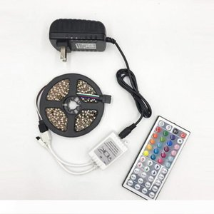 BRELONG 5050LED Esnek Light Bar 300LED 24 44 anahtar Uzaktan Kumanda RGB Renk Bar Dekorasyon Işık Şerit 12V
