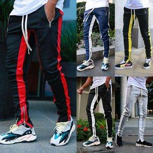 5 COlour M-XXL Men's Sport Gym Slim Tracksuit Bottoms Casual Jogging Joggers Pants Trousers 60282165841992