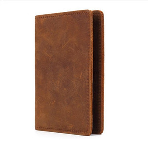 Genuine Leather Passport Holder Credit Card ID Holder Case Travel Business Passport Cover for All Countires