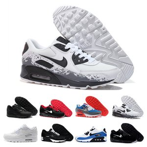 Men Sneakers Shoes Classic 90 Men and woman Shoes Sports Trainer Air Cushion Surface Breathable Sports Shoes 36-45 RT5IN