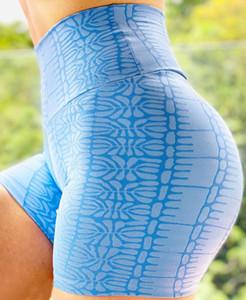 TgGXs Neue Yoga-Frauen-und gedruckt schnell trocknend atmungsaktive Sport- Schlankheitsfitnesshose Neu Yoga-Frauen-und kurze Hosen gedruckt schnelltrocknend br