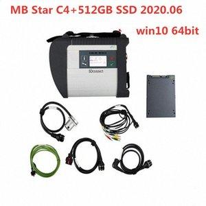 2.020,06 melhor qualidade MB Star C4 Ferramenta de Software Com Lastest completa 512GB SSD MB SD conectar Compact 4 Diagnóstico DHL Automotive eletrônico ZRG5 #