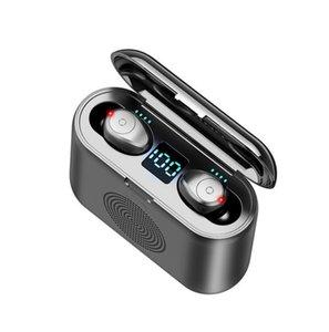 F9 G6 TWS 5,0 Bluetooth наушники включая портативный динамик HD стерео беспроводные наушники с шумоподавлением, игры спорта гарнитуры