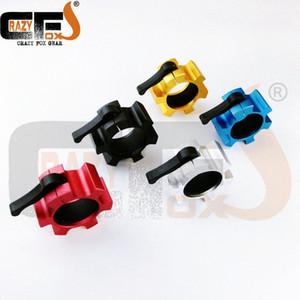 """Métal 50 mm / 2"""" Lock Jaw colliers standards barbell colliers de poids rapide gymnase de levage de verrouillage facile NPGL (NPFL) i33e #"""