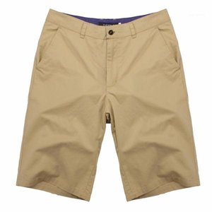 Color Homme Shorts Mens Cargo Shorts Plus Size Bottom Beach Classic Mens Shorts Summer Casual Knee Length Soild