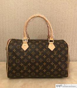 High quality oxidize cowhide speedy 30cm Hot Sell Fashion bag women bag Shoulder Bags Lady Totes handbags bags AZ127