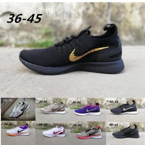 2018 Newest Good Quality Mariah Fly Racer 2 Two V2 Women Mens Athletic Running Shoes Black White Red AIRs Zoom Sneaker Size 36-45 PP02K
