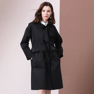 Shetelisi Femmes Long Trench avec Sash Mode Automne manteau de la rue Casual pour les dames élégantes st19037 u4Ty #