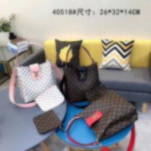 2020 NEW 2pcs Classic fashion Newest Bag women Shoulder bags High quality luxury Handbag lady messenger bag Female purse tote Crossbody