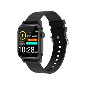 P18 marcado inteligente personalizada mujeres del reloj monitor de presión hombres del deporte del ritmo cardíaco SmartWatch sangre pulsera para Android IOS pk P68 banda