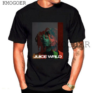 Hip hop Chanteur Respect Juice WRLD Imprimer T-shirt des hommes Streetwear Swag Mode unisexe Hauts Harajuku T-shirt Rapper Fan Club Men