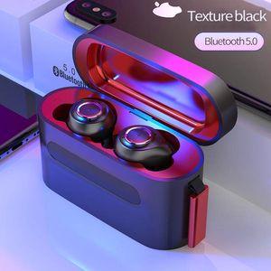2020 Hot Waterproof Wireless Bluetooth Headphone BT5.0 Earphone Portable Sports Headset Hand Free Q8 Earpiece