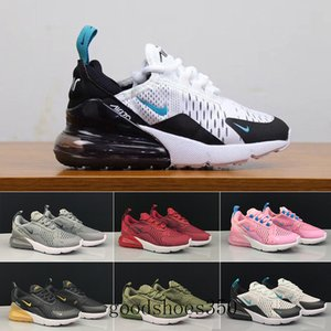 2019 Kids Athletic Shoes Children 27c Basketball Shoes Wolf Grey 27c Toddler Sport Sneakers for Boy Girl Toddler Chaussures Pour Enfant HHE3