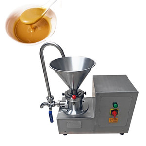 LEWIAO Commercial Automatic Peanut Butter Grinding Maker Food Processor Colloid Mill 4.1L Hopper 2.2KW
