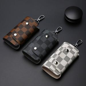 New Arrival Fashion Designer Keychain Multi-Function Key Case Korean Womens Student Couple Key Case Mens Waist Hanging Key Chain Car Bag
