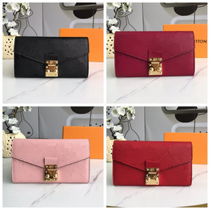 Multi-function Wallet Women's Genuine Leather Embossed Wallet Zipper Bag Female Wallet Purse Fashion Card Holder Pocket Long Women Bag