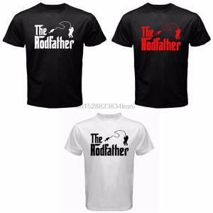 2020 Summer Style The Rodfather Pelagic Abu Fish Gear Redding Reel Fisherman Tackle Carp shirt Hot Sale 100% Cotton Tee Shirt