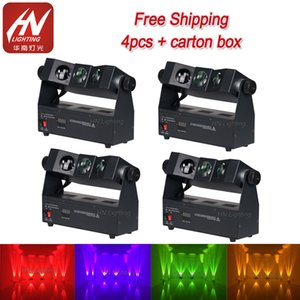 4pcs led uplighting wedding tri beam 3x10w rgba Wireless dmx uplighter led wall washer Stage Lighting for dj party event decoration