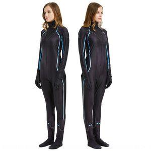 Black Widow cosplaycostume Marvel Kleidung Strumpfhosen Avengers einteilige Strumpfhosen Spiel Black Widow-Uhr-Kostüm Rolle