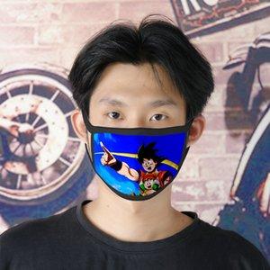 Dhl Free Shipping Son Goku 0620 Cartoon Facemasks Cute Face Mask For Boys Ice Silk Bilayer Cubrebocas Masque Tissu Tapaboca dhzlstore IrdhH