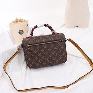High Quality Womens Fashion Designer Bag Handbags Leather Shoulder Vintage Small Flap Crossbody Handbags Top Handle Tote Messenger Bags