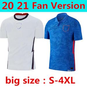큰 크기의 S-4XL FAN 버전 RASHFOR KANE 축구 유니폼 멀리 블루 LINGARD DELE VARDY 축구 셔츠 DELE 국가 대표팀 축구 유니폼의
