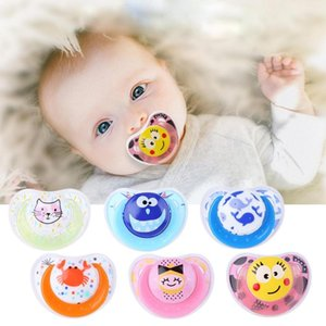Newborn Baby Pacifier Silicone Nipple Soother Anti-dust Lid Infant Teether Baby Boys Girl Dummy Nipples
