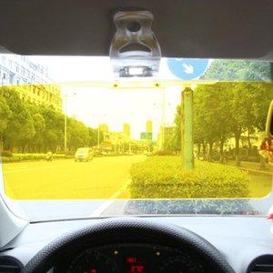 Car Sun Visor anti abbagliante luce del sole Google Glass Giorno Notte visione interiore di guida Specchio UV Fold Flip Down Clear View