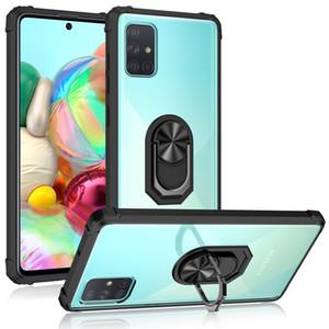 Samsung S20 FE A21S A51 A10S A20S A71 A01 Çekirdek A31 Piksel 5 XL Kristal Temizle Cep Telefonu Kılıfı