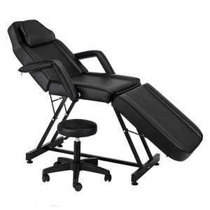 Best Price Adjustable Beauty Massage Beds Tattoo Chairs Spa Salon Chair for SPA Barber Deliver From USA 2020