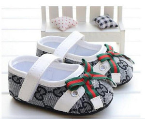 2020 Baby Girl Shoes Spring Autumn Cute Princess Bowknot Kid Anti-slip On Shoes 0-18 Months Toddler Crib Hook & Loop First Walkers