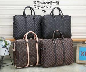 Adam moda marka Çantalar, lüks tasarım erkek dizüstü çantaları crossbody haberci evrak çantası çanta PU deri omuz iş evrak