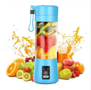 380ml bewegliches Obst Blender USB Mixer Saftmaschine Maschine Smoothie Blender 6 Blades Gemüse Smoothie Squeezers DDA266