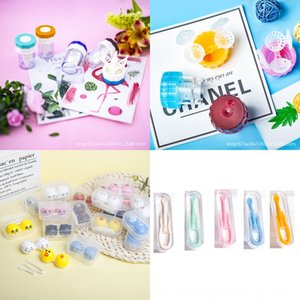 Neue unsichtbare kleine nette Fall Fall Nursing Brille Kontaktbox Unsichtbare Gläser Pflege tragbare Box