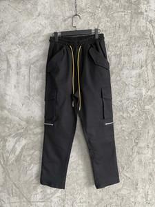 Mens 2020 novo designer de moda calças pista de jogging de carga ~ calças chinese tamanho ~ corredores homens ioga rastrear calças