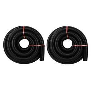 2adet Evrensel Elektrikli Süpürge Tüp Esnek Toz Toplama Hortum 2m Siyah