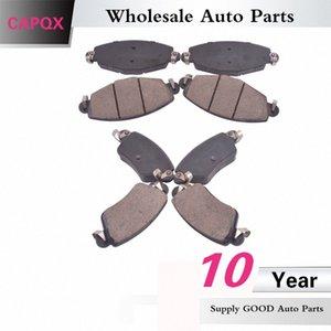 CAPQX Vorne Hinten Bremsbelag Scheibenbremsbelag Kit TD-5127 TD-5128 Für Luxgen SUV 7 Buey #
