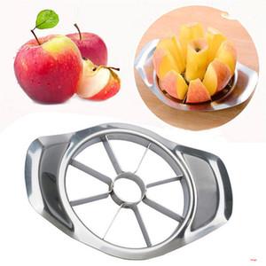 Aço inoxidável da Apple cortador de vegetais Fruit slicer da maçã Pear cortador Corer Processamento de cozinha que corta Facas utensílio BH3014 DBC
