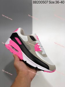 New Sneakers Shoes classic 90 Men and women Shoes Sports Trainer Soft Cushion Surface Breathable Shoes Eur 36-45 walking Xshfbcl for men