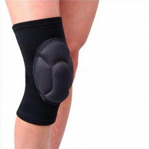 Crashproof do joelho Pads Antislip Basketball Perna Longa Protector Sólidos Honeycomb Sports Bater Universal Pad 02jX #
