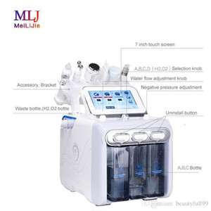 6 in 1 hydrafacial machine Deep Cleansing face lifting portable Hydrogen Oxygen Bubble Machine for home and salon