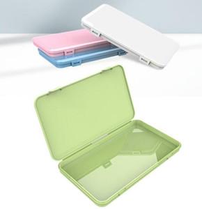 Antipolvere Maschera caso portatile maschere monouso viso Container sicuro l'inquinamento-free monouso Maschera Storage Box Bins GGA3569-9