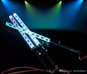 LED Cheer Glow Sticks Bunte Changed Flash-Wand für Kinder Spielzeug Weihnachtskonzert-Geburtstags-Party Supplies