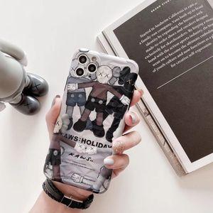 Telefone de luxo Caso Designer de 2019 novo iPhone 11 / 11Pro / 11Pro MAX XR XSMAX X / XS 7P / 8P 7/8 de alta qualidade com tampa do caso real Marca Boneca Voltar