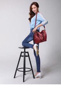 Designer Women soft Genuine single Leather Handbag Casual Tote Bags Female Big Shoulder Bags for Women 2020 HOT