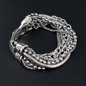 JIANXI Gift to Best friend multi layer pulseira Alloy bracelets & bangles bohemian vintage jewelry fashion friendship bracel