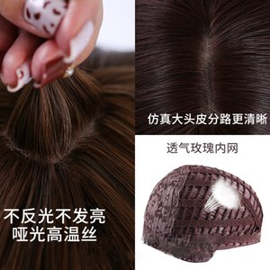 XINYI Big Wave Korean Style Female wig 5 styles human hair lace front wigs Various colors Fluffy Easy to wear wholesale lot